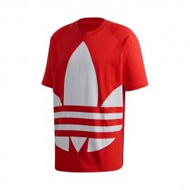 ADIDAS originals t-shirt big logo rosso uomo