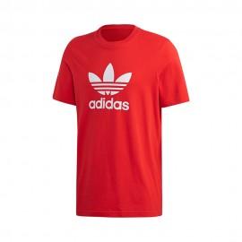 ADIDAS originals t-shirt logo rosso uomo
