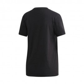 ADIDAS originals t-shirt trefoil nero donna