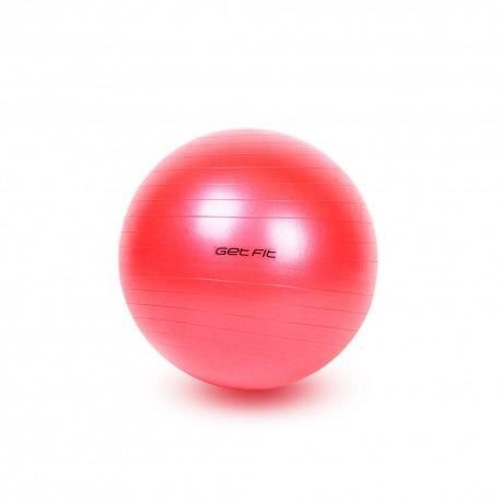Get Fit Fitball 55 Cm Antiscoppio Rosso