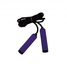 Get Fit Corda Per Saltare Foam Jump Rope Viola Nero