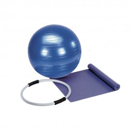 Get Fit Set Pilates (Materassino - Fitball - Anello)