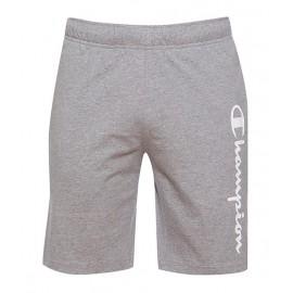 Champion Shorts Logo Di Lato Grigio Uomo