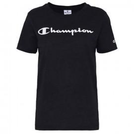 Champion T-Shirt Legacy Nero Donna