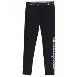 Champion Leggings Logo Nero Donna