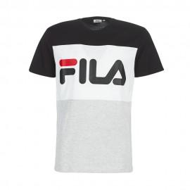 Fila T-Shirt Bicolor Nero Uomo