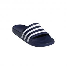 Adidas Ciabatte Adilette Aqua Blu Bianco Uomo