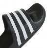 Adidas Ciabatte Adilette Aqua Nero Bianco Uomo