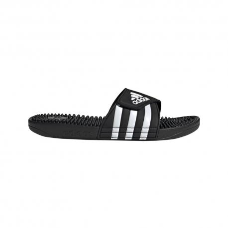 Adidas Ciabatte Adissage Nero Bianco Uomo