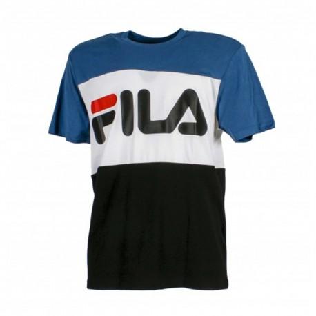 Fila T-Shirt Bicolor Royal Uomo