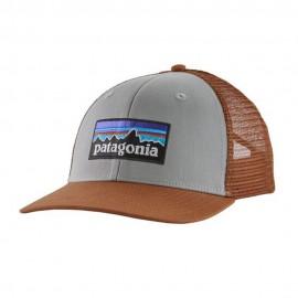 Patagonia Cappello Trekking P-6 Logo Trucker Grigio Uomo