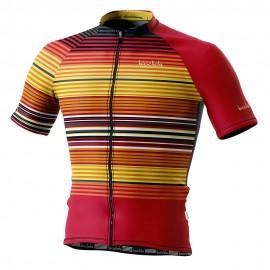 Biciclista Maglia Ciclismo Socorro Multicolore Uomo