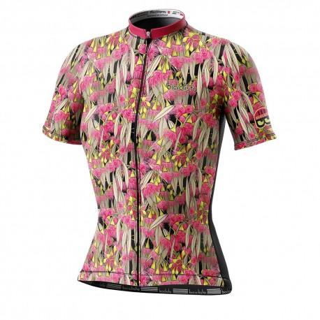Biciclista Maglia Ciclismo Donna Eucalyptus Multicolore Donna