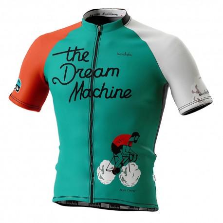 Biciclista Maglia Ciclismo The Dream Machine Multicolore Uomo