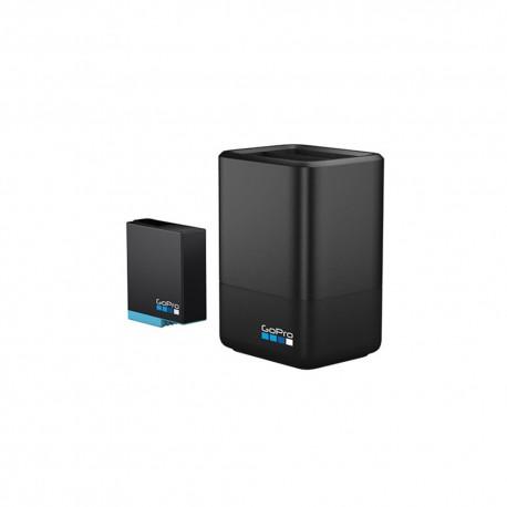 Gopro Caricabatterie + Batteria (Hero Blk 8 7 6 5)