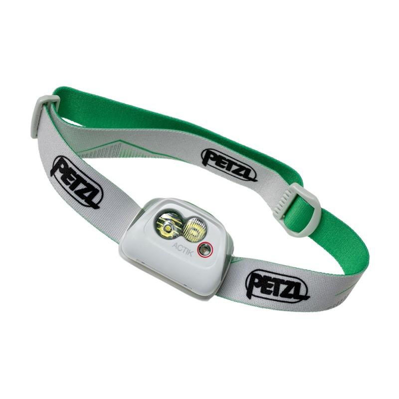 Petzl Lampada Montagna Actik 350 Lumen Verde