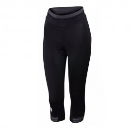 Sportful Leggings ¾ Ciclismo Giro Nero Donna