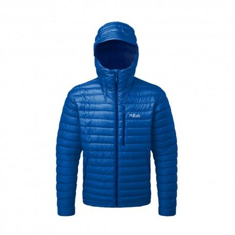 Rab Giacca Alpinismo Piuma Microlight Alpine Blu Uomo