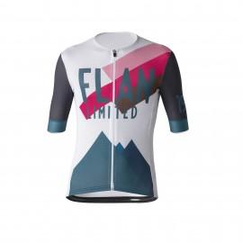 Flandres Love Maglia Ciclismo Summer Ltd Ottanio Bianco Uomo