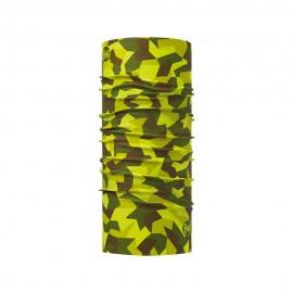 Buff Scaldacollo Original Block Camouflage Verde Uomo