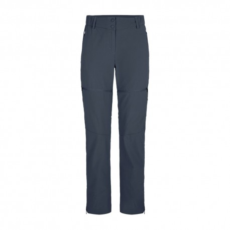 Salewa Pantaloni Trekking Talvena Covertibile Blu Donna