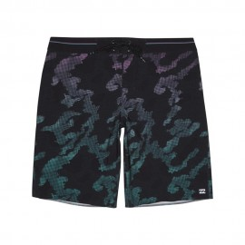Billabong Boardshort Fantasia Pixel Nero Uomo