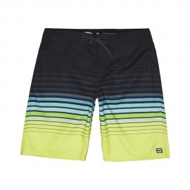 Billabong Boardshort Righe Lime Uomo