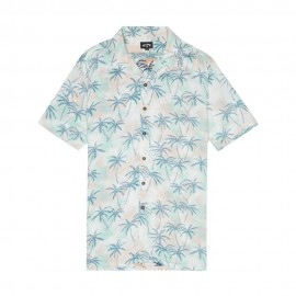 Billabong Camicia Palme Bianco Uomo