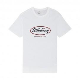 Billabong T-Shirt Mare Logo Bianco Uomo