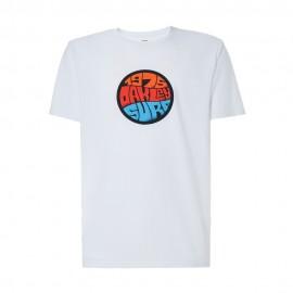 Oakley T-Shirt Mare 1975 Bianco Uomo