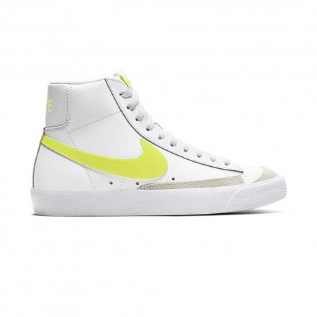 Nike Sneakers Blazer Mid 77 Bianco Giallo Donna