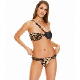 4giveness Bikini Fascia Animalieu Ciniglia Moro Donna