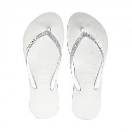 Havaianas Infradito Mare Slim Sparkle Bianco Donna