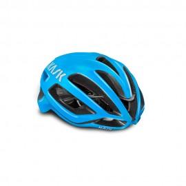 Kask Casco Bici Protone Total Azzurro Uomo