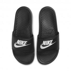Nike Ciabatte Mare Fascia Logo Nero Donna