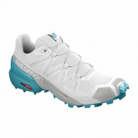 Salomon Scarpe Trail Running Speedcross 5 Bianco Donna