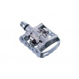 Shimano Pedali MTB M324 Con Tacchette Silver Sm-Sh56