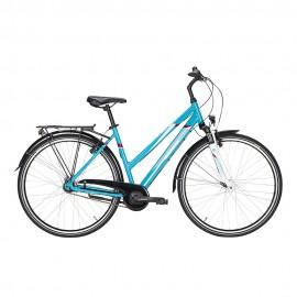 "Pegasus City Bike Avanti 7 28"" Turchese Bianco Donna"