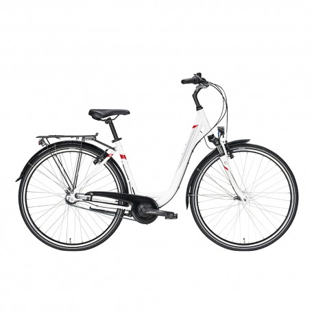 "Pegasus City Bike Avanti 3 28"" Bianco Nero Donna"