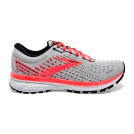 Brooks Scarpe Running Ghost 13 Grigio Corallo Donna
