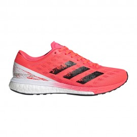 ADIDAS scarpe running adizero boston 9 signal rosa core nero donna
