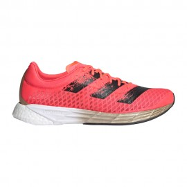 ADIDAS scarpe running adizero pro signal rosa core nero donna