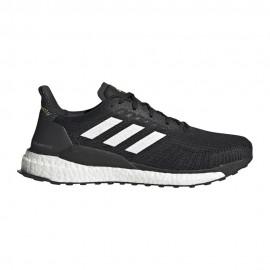 ADIDAS scarpe running solar boost 19 core nero ftwr bianco uomo