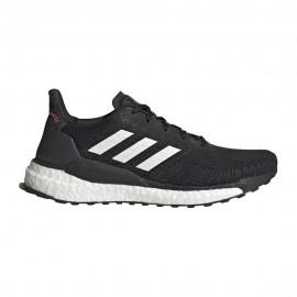 ADIDAS scarpe running solar boost core nero ftwr bianco donna