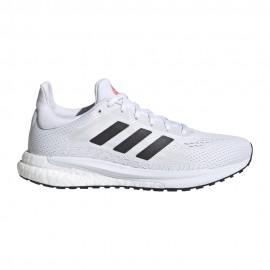 ADIDAS scarpe running solar glide 3 ftwr bianco core nero donna
