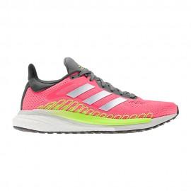 ADIDAS scarpe running solar glide st 3 signal rosa silver met donna