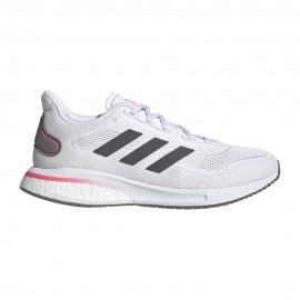ADIDAS scarpe running supernova ftwr bianco grigio five donna