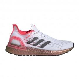 ADIDAS scarpe running ultraboost pb ftwr bianco core nero donna