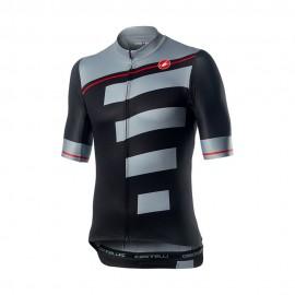 Castelli Maglia Ciclismo Mm Trofeo Jy Light Nero Grigio Uomo
