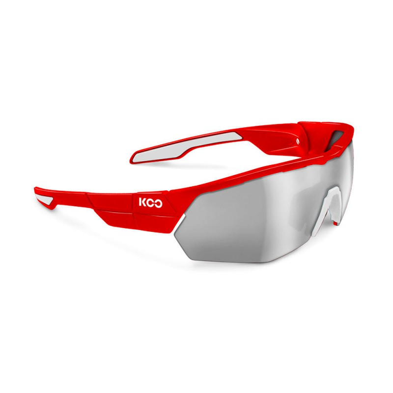 Kask Occhiali Ciclismo Open Cube Koo Rosso Uomo